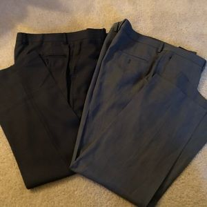 Set of 2 Men's Dress Pants